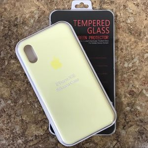 8209dfef4ac003 Accessories - Silicone Case for iPhone Xs